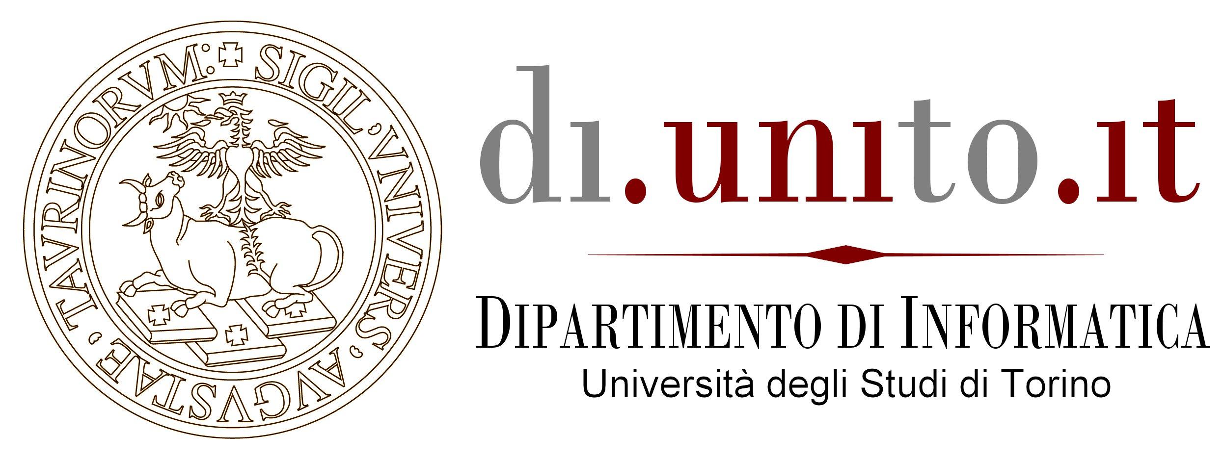 Logo Dipartimento di Informatica - UniTO